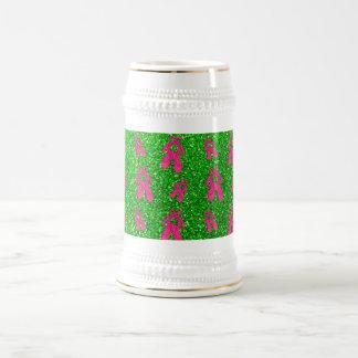 Modelo del brillo de los deslizadores del ballet d jarra de cerveza