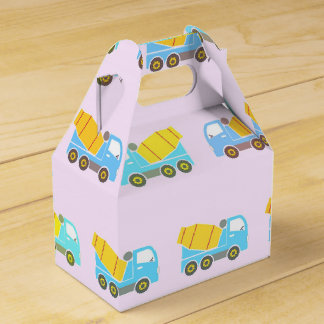 Modelo del camión del juguete caja para regalos de fiestas