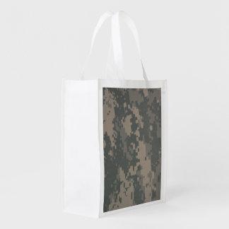 Modelo del camuflaje de las botas de combate de la bolsas reutilizables