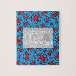 Modelo del cangrejo azul de cielo puzzle