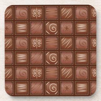 Modelo del chocolate posavaso