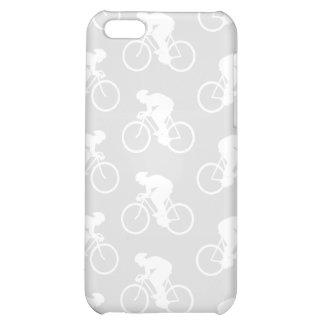 Modelo del ciclista y de la bicicleta en gris