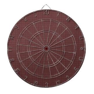 Modelo del círculo de color oscuro tablero de dardos