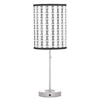 Modelo del código de barras del juego de la CLAVE Lámpara De Mesilla De Noche