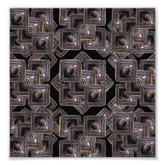 Modelo del collage de las joyas impresiones fotograficas