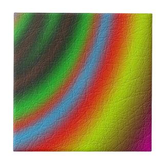 Modelo del color de la línea azulejo