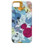 Modelo del color de Mickey Mouse iPhone 5 Case-Mate Carcasas