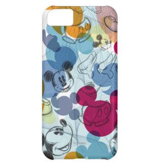 Modelo del color de Mickey Mouse Funda Para iPhone 5C