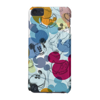 Modelo del color de Mickey Mouse Funda Para iPod Touch 5G
