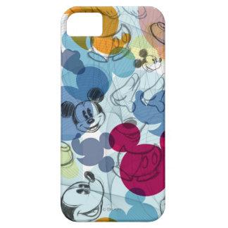 Modelo del color de Mickey Mouse iPhone 5 Fundas