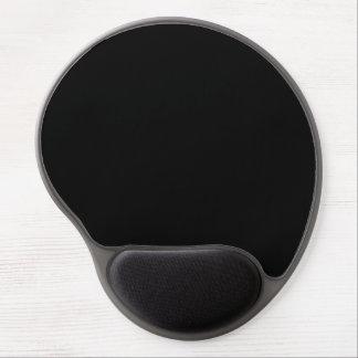 Modelo del color negro, sólido. Tendencias del col Alfombrillas De Ratón Con Gel