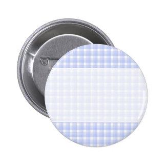 Modelo del control de la guinga. Azul claro y blan Pin Redondo De 2 Pulgadas