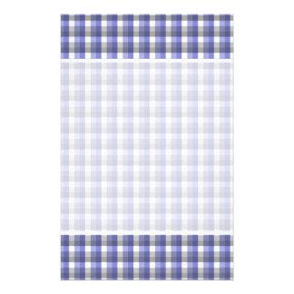 "Modelo del control de la guinga. Azul, gris, blanc Folleto 5.5"" X 8.5"""