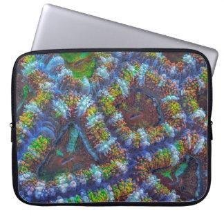 Modelo del coral de Acanthastrea Fundas Computadoras