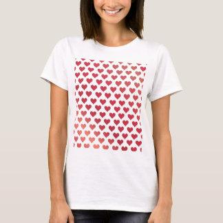 Modelo del corazón - pendiente roja de la baya playera