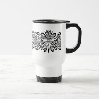 Modelo del cordón tazas de café