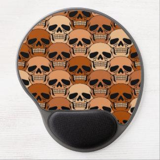 Modelo del cráneo de Brown que entrelaza Alfombrilla Con Gel