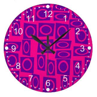 Modelo del cuadrado del círculo de la diversión de relojes