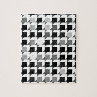 modelo del cubo (negro 01) puzzle