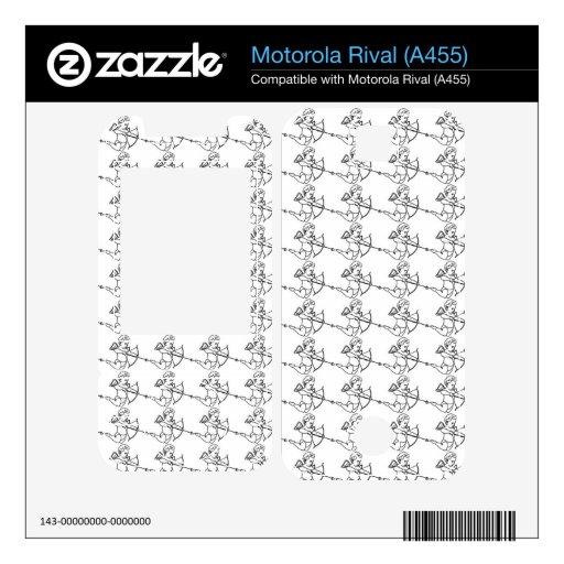 Modelo del Cupid Motorola Rival Skins