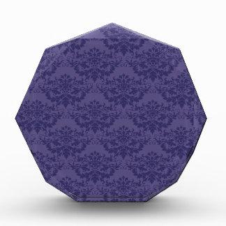 Modelo del damasco de la púrpura real