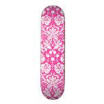 Modelo del damasco de las rosas fuertes tabla de skate