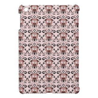 Modelo del damasco del cerdo iPad mini protector