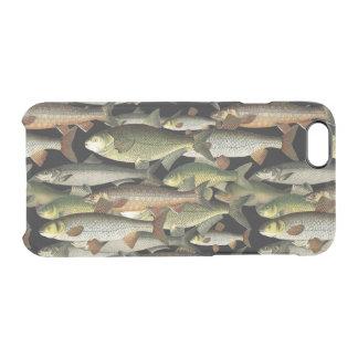 Modelo del deportista de la fantasía del pescador funda clear para iPhone 6/6S