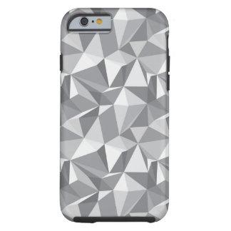 Modelo del diamante - polígono abstracto funda resistente iPhone 6