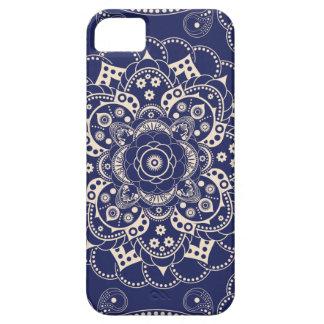 Modelo del diseño floral del vintage iPhone 5 Case-Mate funda