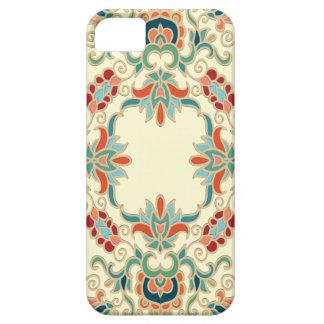 Modelo del diseño floral del vintage iPhone 5 Case-Mate fundas