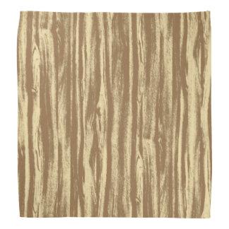 Modelo del Driftwood - marrón y moreno del cacao Bandanas