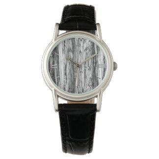 Modelo del Driftwood - negro, blanco y gris Relojes