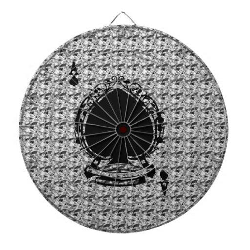Modelo del dulce del naipe tablero de dardos