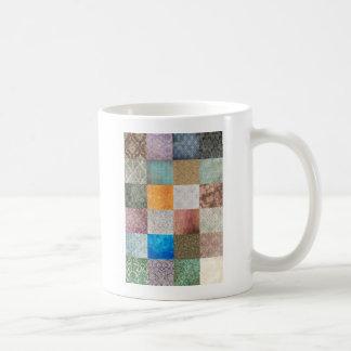 Modelo del edredón tazas de café