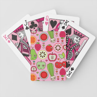 modelo del ejemplo de la cocina de la fruta baraja de cartas bicycle