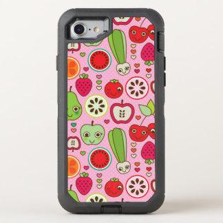 modelo del ejemplo de la cocina de la fruta funda OtterBox defender para iPhone 7