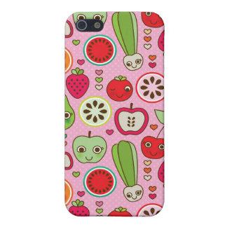 modelo del ejemplo de la cocina de la fruta iPhone 5 funda