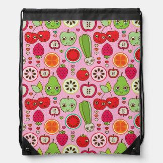 modelo del ejemplo de la cocina de la fruta mochilas