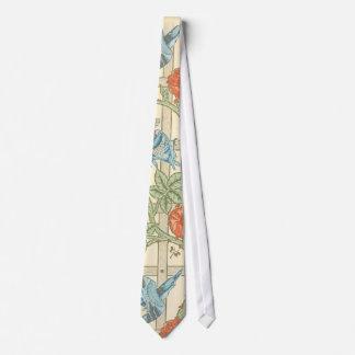 Modelo del enrejado de William Morris Corbatas