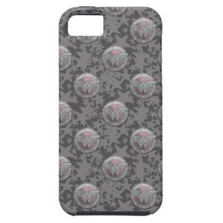 Modelo del escudo de la Mujer Maravilla iPhone 5 Case-Mate Cárcasas
