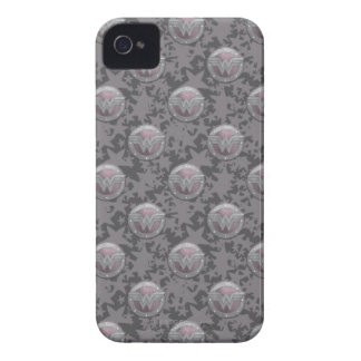 Modelo del escudo de la Mujer Maravilla iPhone 4 Case-Mate Carcasa