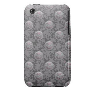 Modelo del escudo de la Mujer Maravilla iPhone 3 Case-Mate Cárcasas