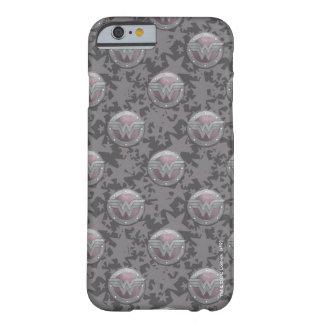 Modelo del escudo de la Mujer Maravilla Funda Para iPhone 6 Barely There