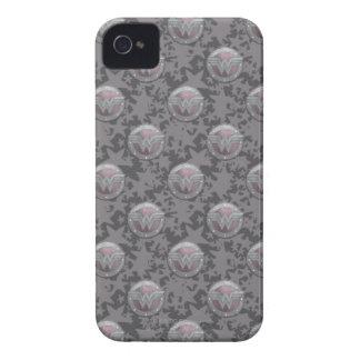 Modelo del escudo de la Mujer Maravilla iPhone 4 Case-Mate Carcasas