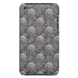 Modelo del escudo de la Mujer Maravilla iPod Case-Mate Protectores