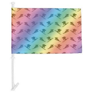 Modelo del esquí del arco iris