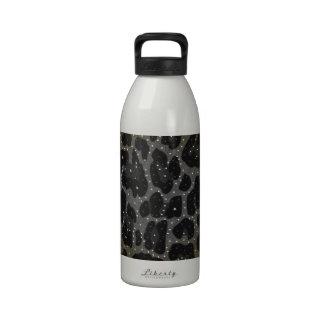 Modelo del estampado de animales botella de agua