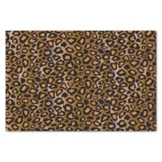 Modelo del estampado de animales de Jaguar Papel De Seda Pequeño