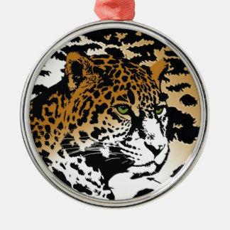 Modelo del estampado de animales del gato de pante ornamentos de reyes